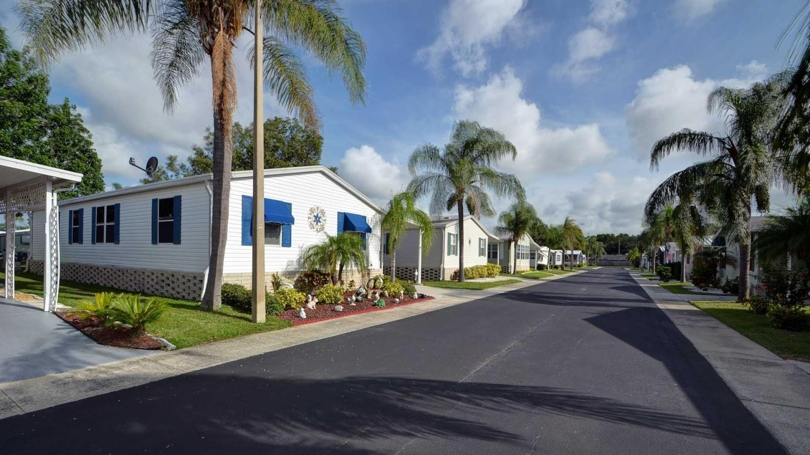 mobile home park in the heartland of florida
