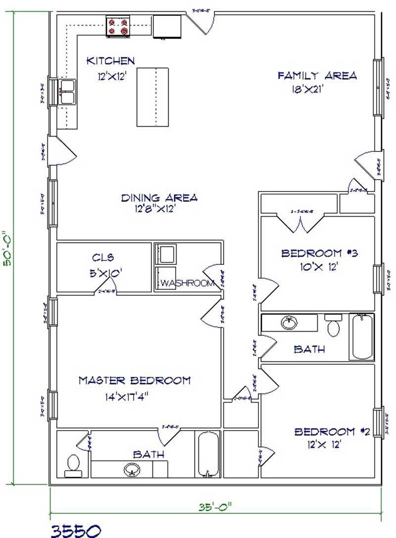 5 Floor Plans For Your Barndominium Home Nation