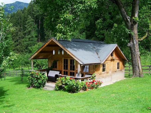 wooden modular home